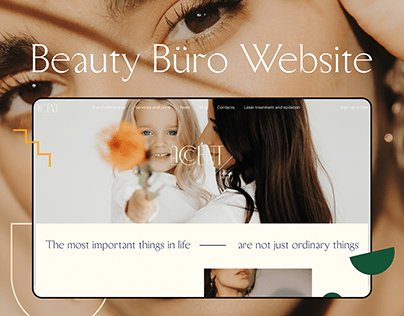 Accent Beauty Büro Website Design