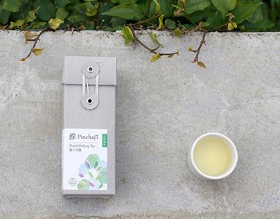 Pinchajii品茶集 自然複方袋茶 | 包裝插畫設計