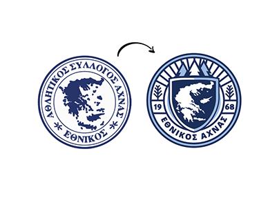 Ethnikos Achna FC - Concept Logo & Kit