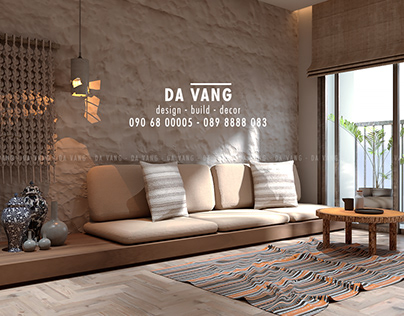 Wabi-sabi Living room - CLEAN LIGHT