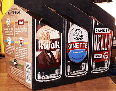 Packaging Carrefour 6 Beer Pack