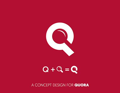 Quora Redesigned Projects Photos Videos Logos Illustrations And Branding On Behance