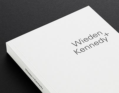 Wieden+Kennedy Premium Book