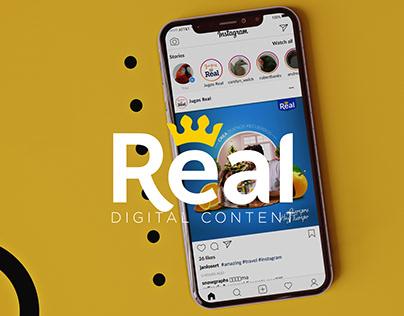 Real | Contenido Digital