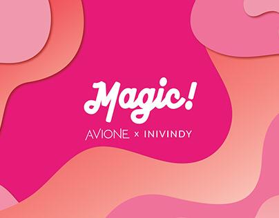 Magic! Pallete Avione x Inivindy