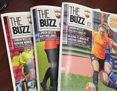 Programme magazine for London Bees