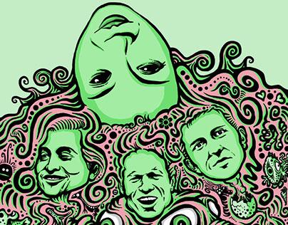 Deerhoof illustration