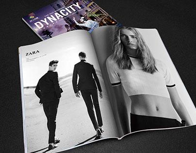 DYNACITY Magazine Design