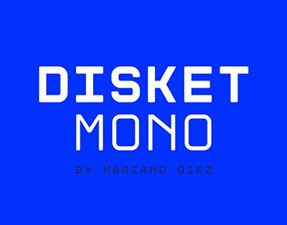 Disket Mono | Free font
