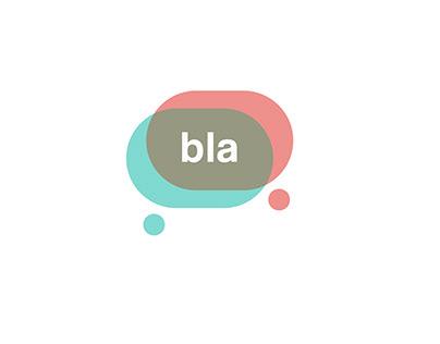 Animación logotipo Bla - Empresa de telefonía