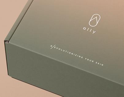 Ally branding design