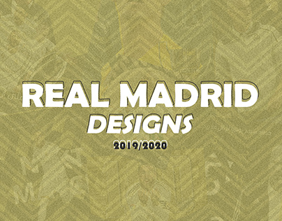 Real Madrid Designs 19/20