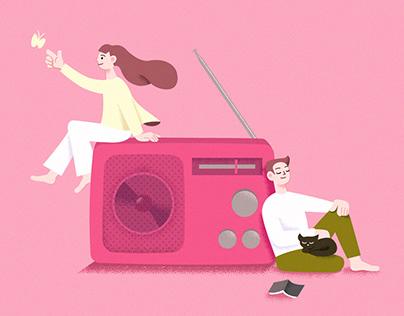 radio|personal work