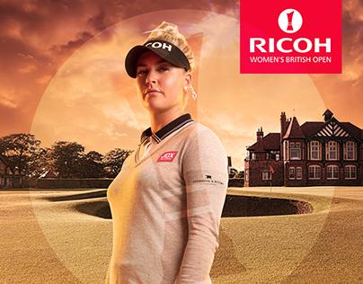 Ricoh Women's British Open Campaign 2018