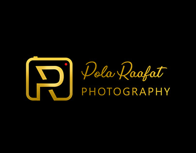 P+R Photography logo design