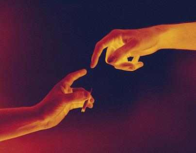 Iridescence art work / A.MOYANO