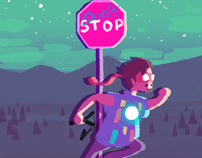 Run Away: Character Designs