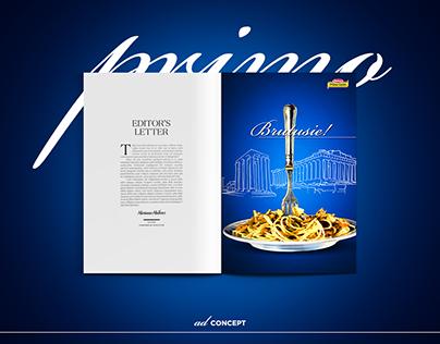 Primo Gusto Advertisement/Graphic Design Concept