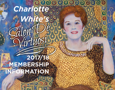Charlotte White's Salon De Virtuosi Program Cover