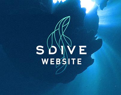 SDive – Website