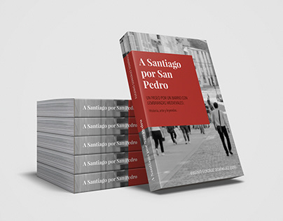 Diseño de libro: «A Santiago por San Pedro»