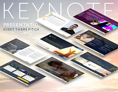 Keynote Presentation: Pitch for Event Theme