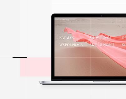 Silk Epoque by Olga Ziemann | Website design