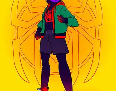 SPIDER-MAN DAY CHARACTER DESIGN