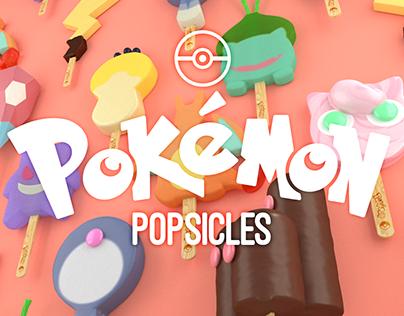 Pokemon Popsicles