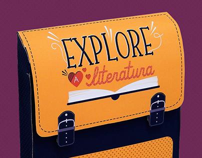 Explore a Literatura   Book Packaging