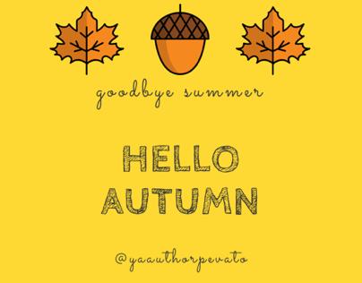Autumn Equinox social media posts