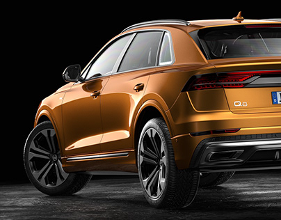 Audi Q8 | Automotive CGI