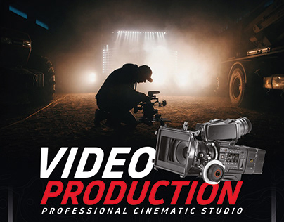 Video Production And Services 4 Flyer/Poster