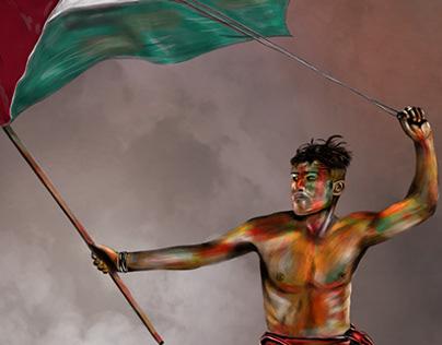 Digital illustration of Abu Amro