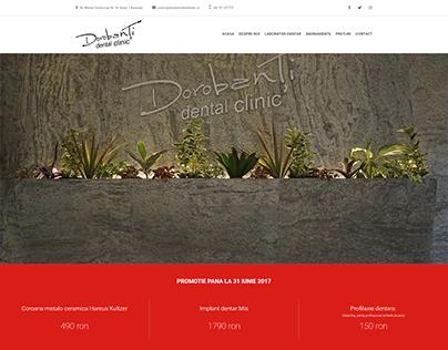 Dorobanti Dental Clinic Website