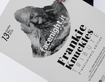 Urban poster mockup - Tribute to Frankie Knuckles
