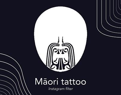Māori tattoo _ Instagram filter
