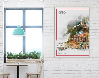 Geo Cafe Rebranding