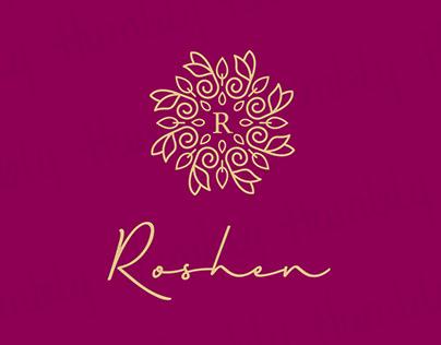 Roshen Fragrance – Logo Design
