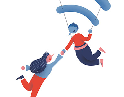 Libres - Ilustración Editorial