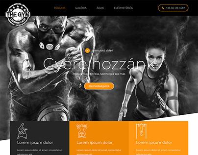 Microsite - webdesign