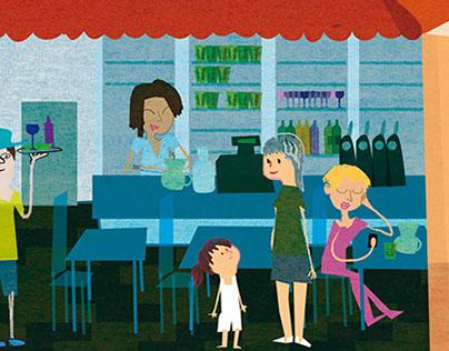 le petit monde du restaurant