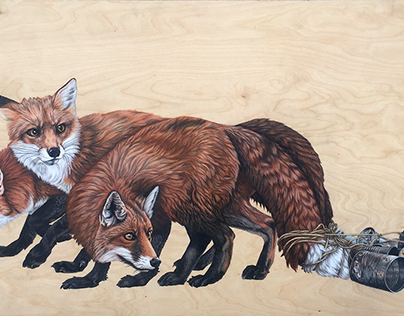 Just Married (Three Foxes)