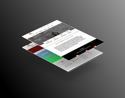 It Institute website making for client