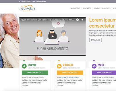 INVESTIO - Startup de consórcios