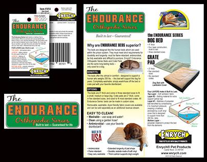 Logo design, sell sheet and hang-tag design