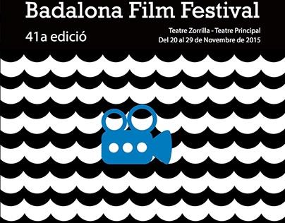 Propuestas cartel Badalona Film Festival 2015