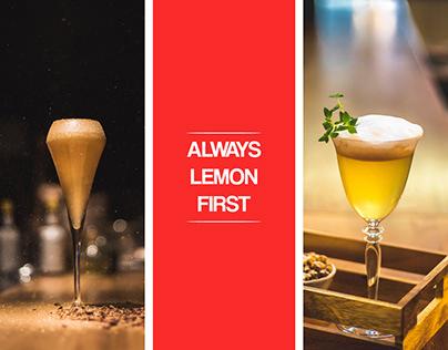 Always Lemon First - Personal Portfolio (Bartender)
