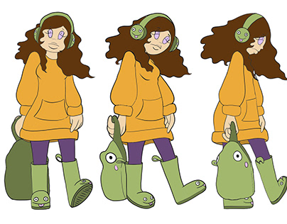 Stay Groovy Character Designs