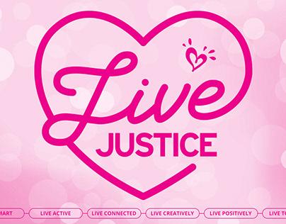 Justice - Microsite Design